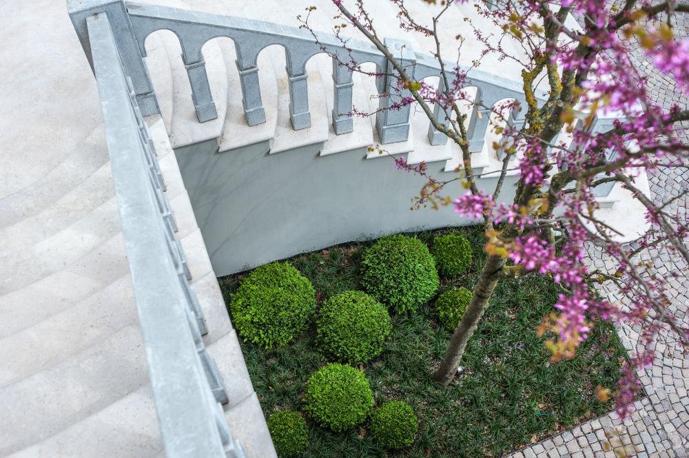 Arte topiaria giardino pensile