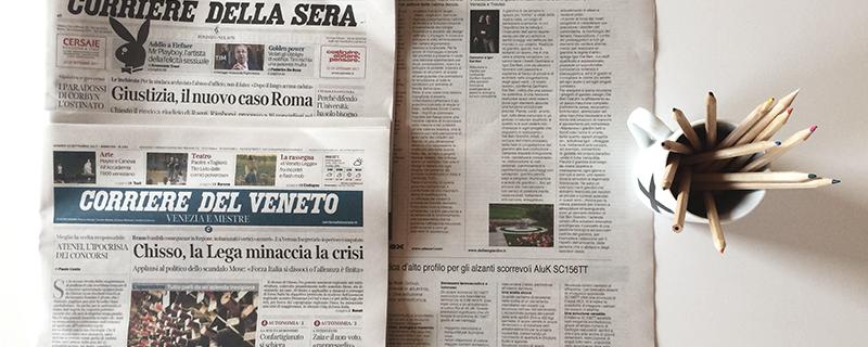 Dal Ben Giardini sul «Corriere della Sera»