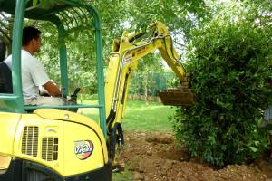realizzazione su giardini