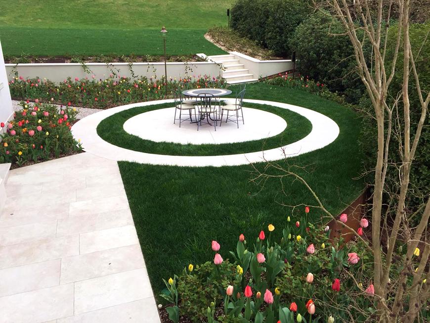 Le fasi di realizzazione del giardino pensile dal ben - Giardino pensile ...