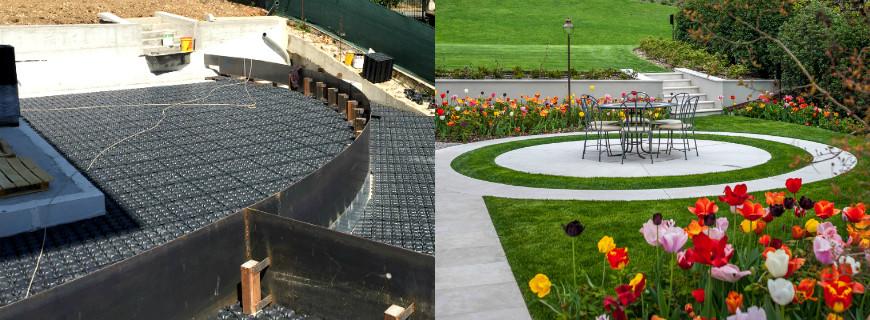 """""""Prima e Dopo"""": il nuovo Giardino Pensile a Valdobbiadene"""